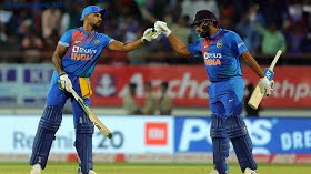 Rohit Sharma shines in 100th T20I as India level series at Rajkot